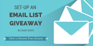 Email list giveaway course